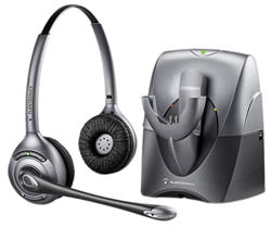 Изображение Plantronics SupraPlus Wireless Binaural на сайте www.dedalgroup.ru.