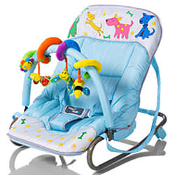 Изображение Happy Baby Шезлонг Bouncer Woody Boys на сайте www.dedalgroup.ru.